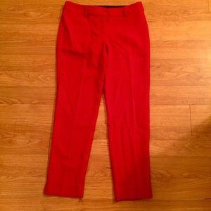 "Talbots ""Hampshire"" Red Straight Leg Pants"